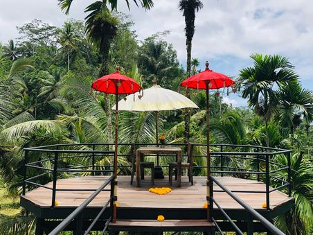 Green Kubu Café at Ubud
