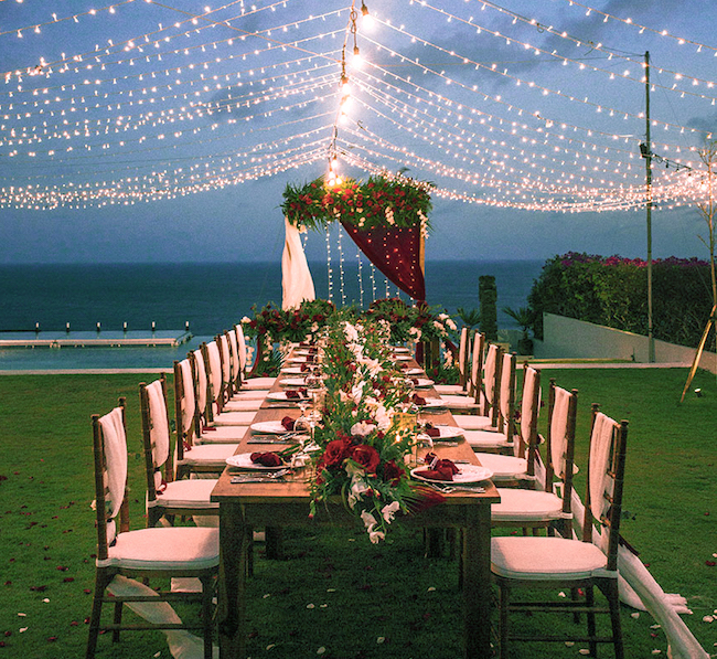 catering in bali gorgeous wedding venue