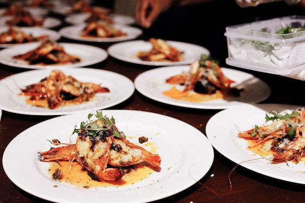 wedding food in bali paradise island