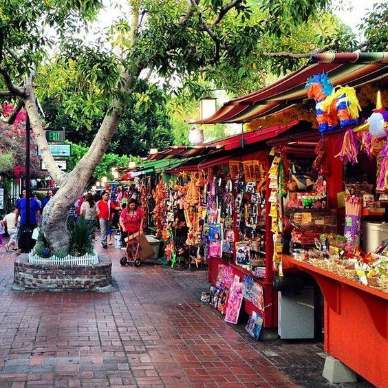 Olvera Street LA